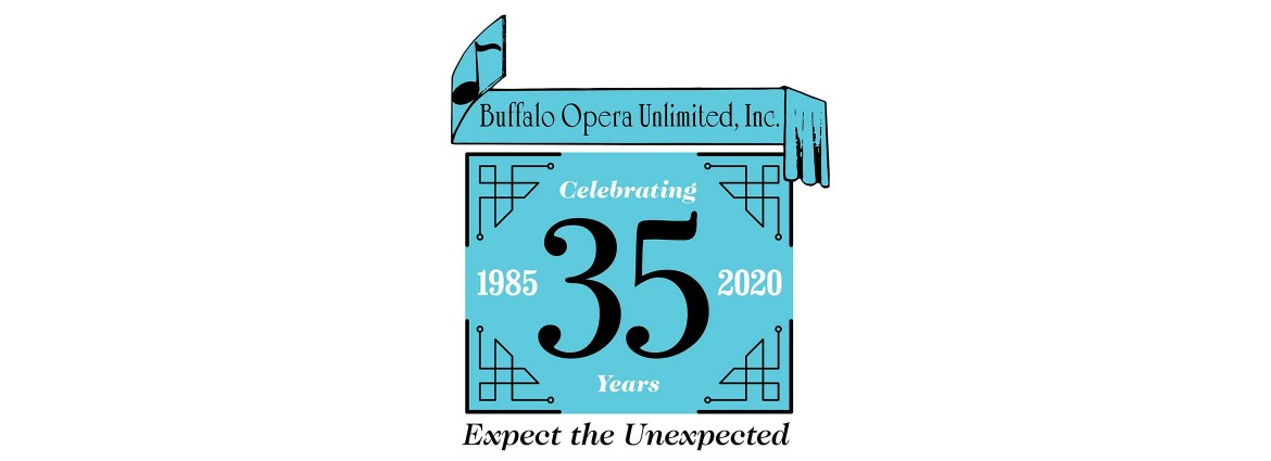 Buffalo Opera Unlimited 35th Anniversary Season Logo