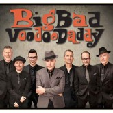 Members of the band Big Bad Voodoo Daddy