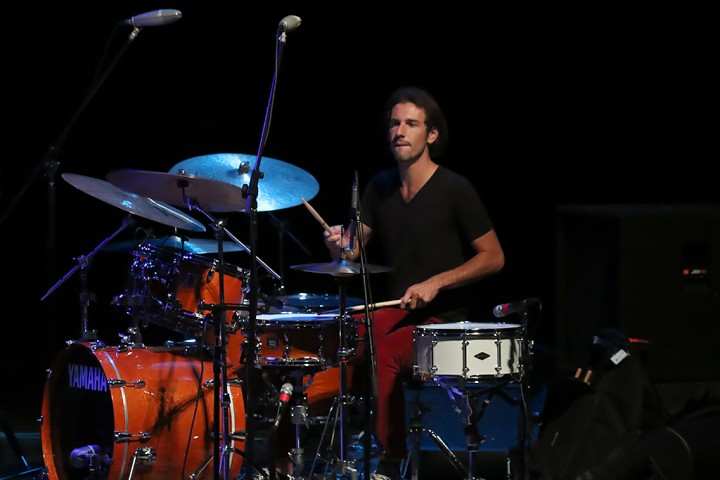 Wesley Ritenour on drums